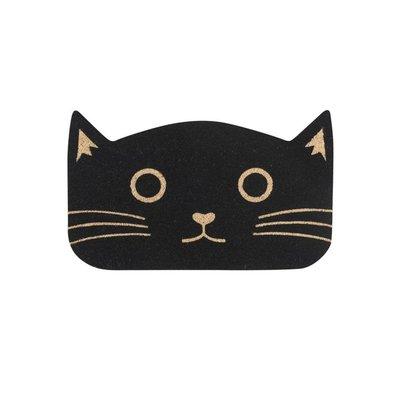 Danica Black Cat Doormat