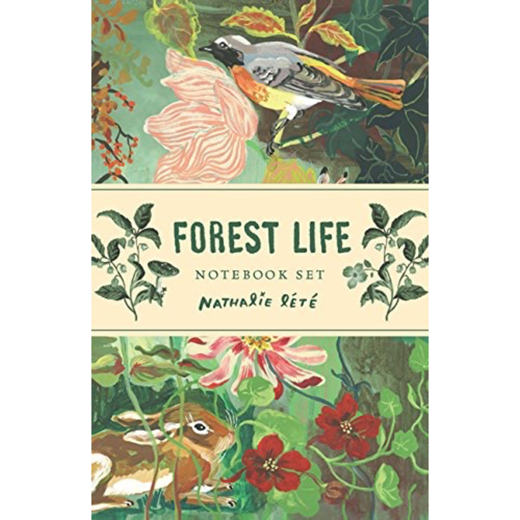 Chronicle Forest Life Notebook Set