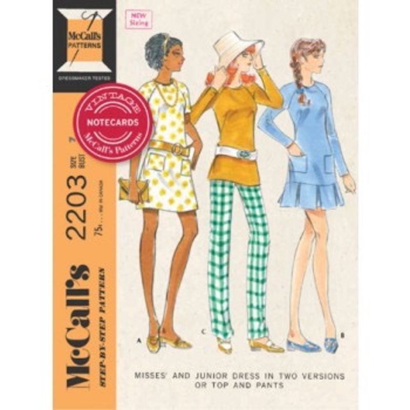 Chronicle Vintage McCall's Patterns Notecards