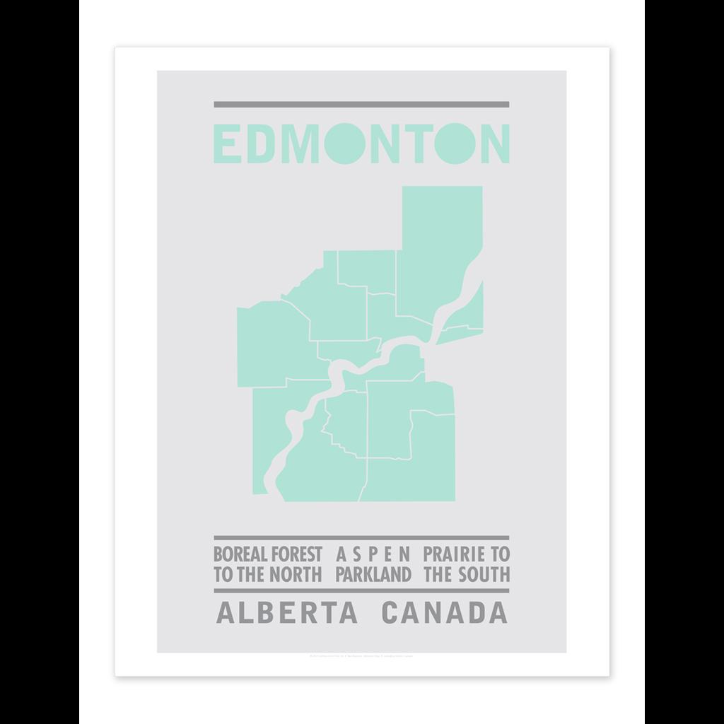 Bee Waeland Bee Waeland | Edmonton Map Mint