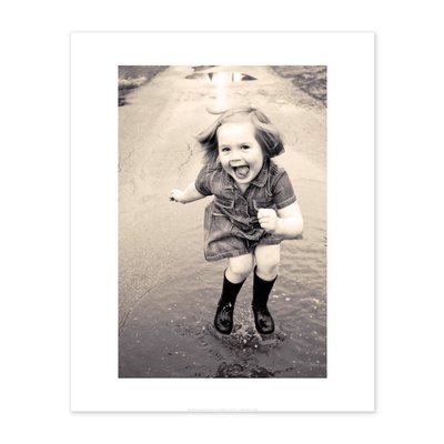 Vivid Print Magda Straszynska | Puddle Jump