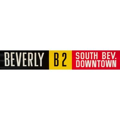 Vivid Print ETS Single Destination | Beverly / South Bev. Downtown