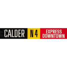 Vivid Print ETS Single Destination | Calder / Express Downtown