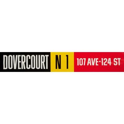 Vivid Print ETS Single Destination | Dovercourt / 107 Ave - 124 St