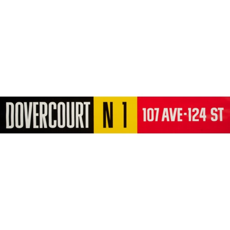 Vivid Print ETS Single Destination | Dovercourt / 107 Ave - 124 St