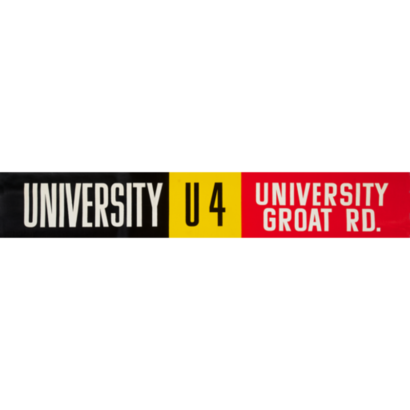 Vivid Print ETS Single Destination | University / University Groat Rd.