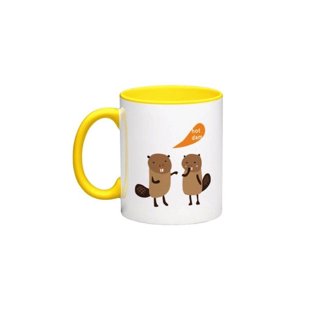 Bee Waeland Bee Waeland | Moose + Beaver Mug Set