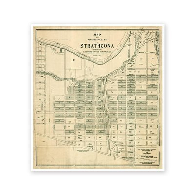 Vivid Archives Map of Strathcona 1899