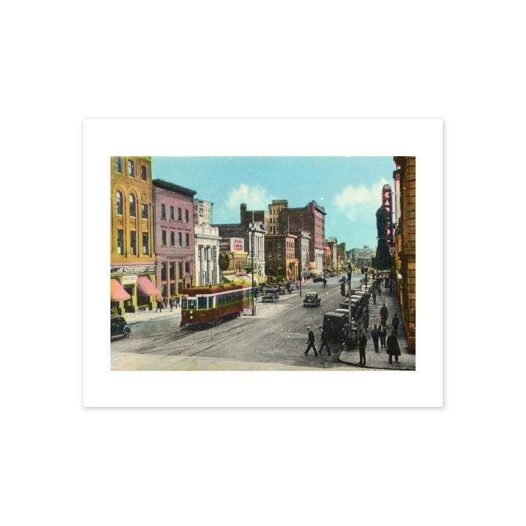 Vivid Archives Jasper Avenue Postcard Print