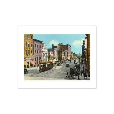Vivid Archives Jasper Avenue Postcard Print