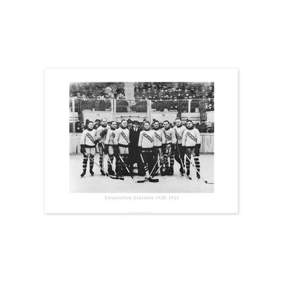 Vivid Archives Edmonton Eskimos Hockey Team 1920-1921 Poster
