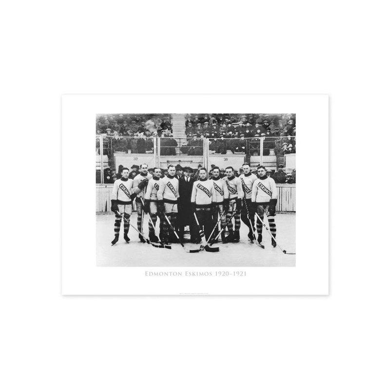 Vivid Archives Edmonton Eskimos Hockey Team 1920-1921 Poster