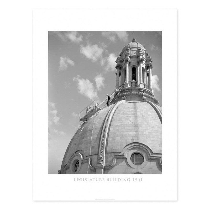 Vivid Archives Legislature Building Dome 1951 Poster