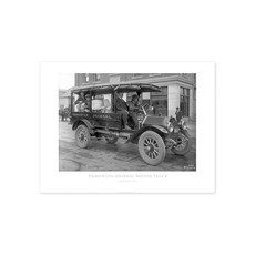 Vivid Archives Edmonton Journal Motor Truck 1914 Poster