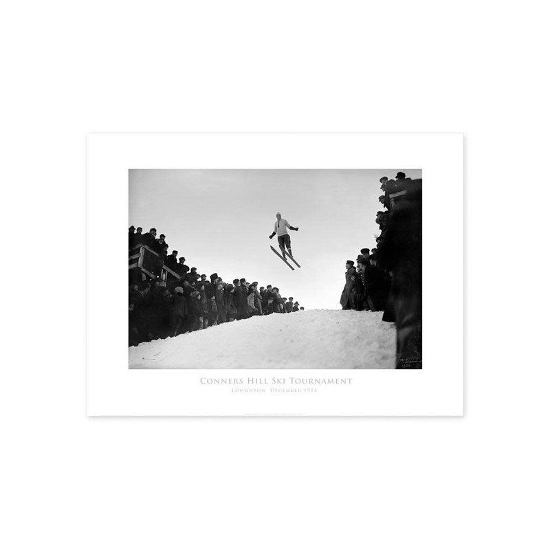 Vivid Archives Connors Hill Ski Tournament 1914 Poster