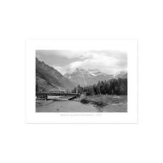 Vivid Archives Banff Jasper Highway 1951 Poster