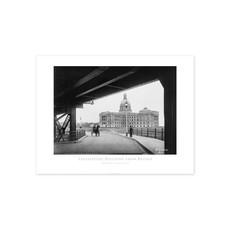 Vivid Archives Legislature Building from Bridge Poster