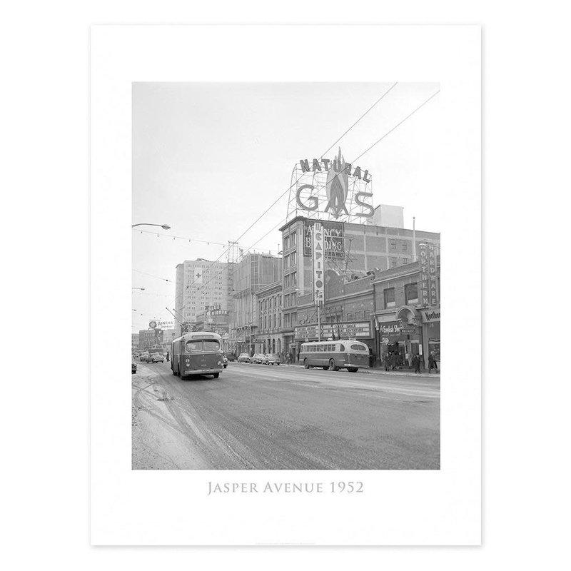 Vivid Archives Jasper Avenue 1952 Poster