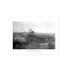 Vivid Archives High Level Bridge April 1912 Poster