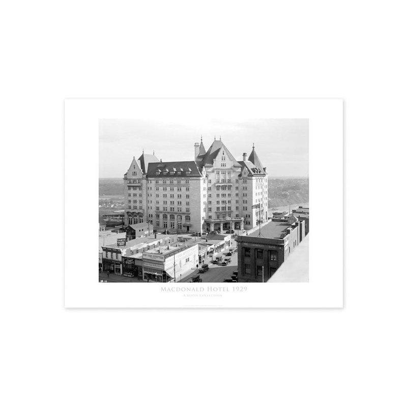 Vivid Archives Hotel Macdonald Poster