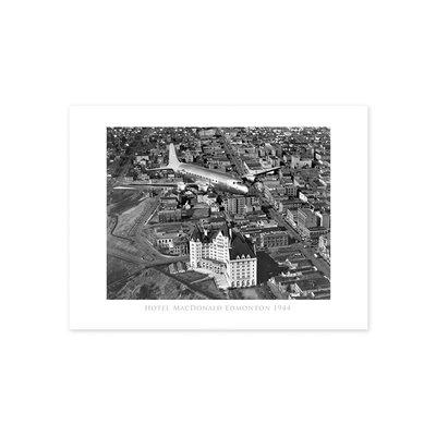 Vivid Archives Hotel Macdonald 1944 Poster