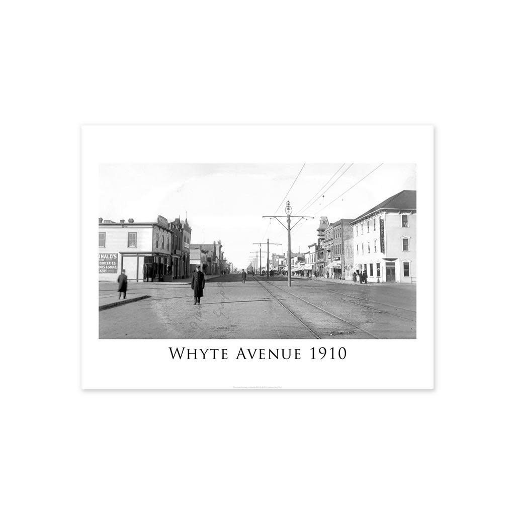 Vivid Archives Whyte Avenue 1910 Poster