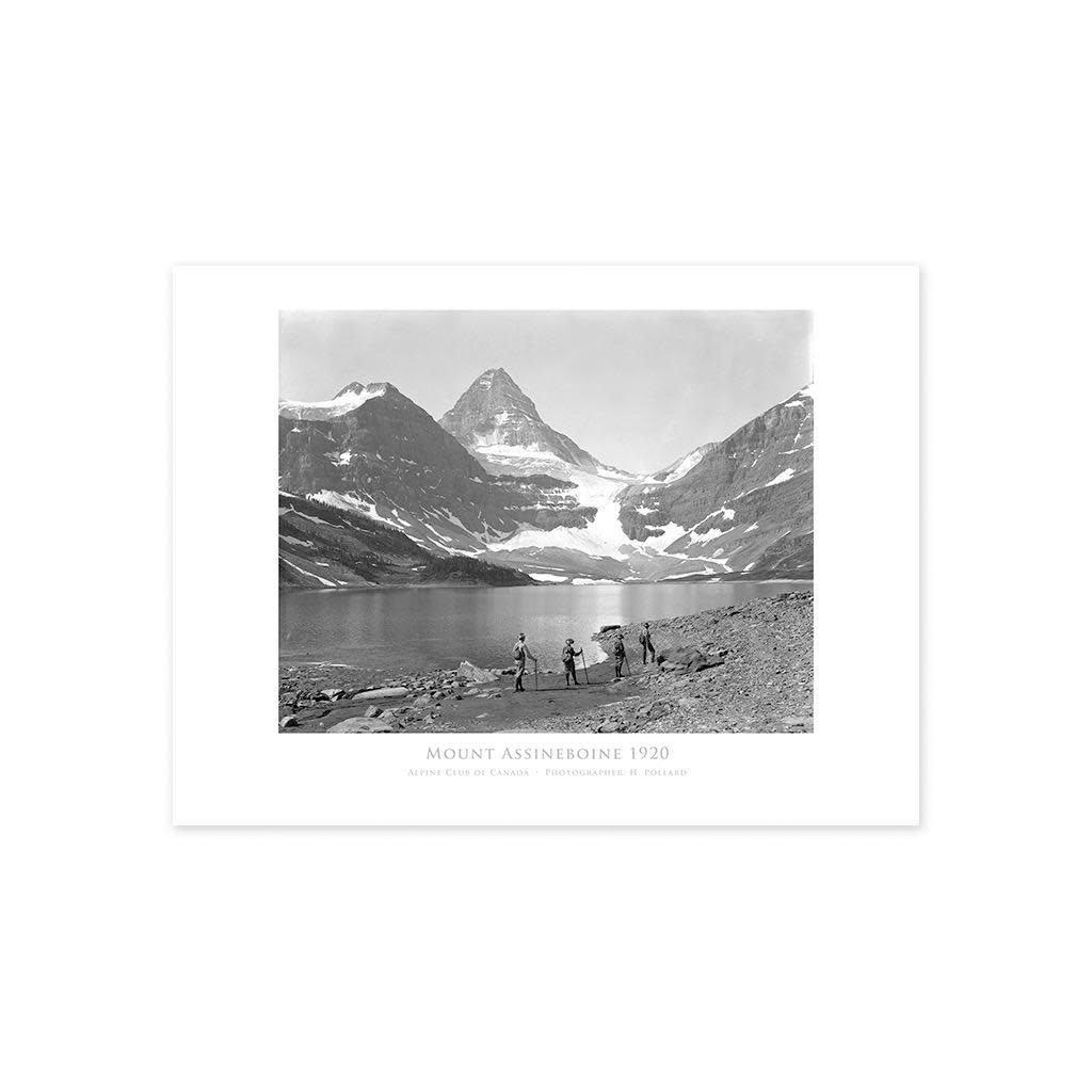 Vivid Archives Mount Assiniboine, Alpine Club of Canada c. 1920 Poster