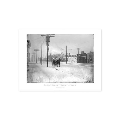 Vivid Archives Main Street Strathcona 1913 Poster