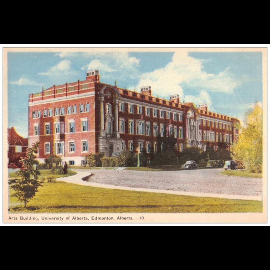 Vivid Print Arts Building Postcard
