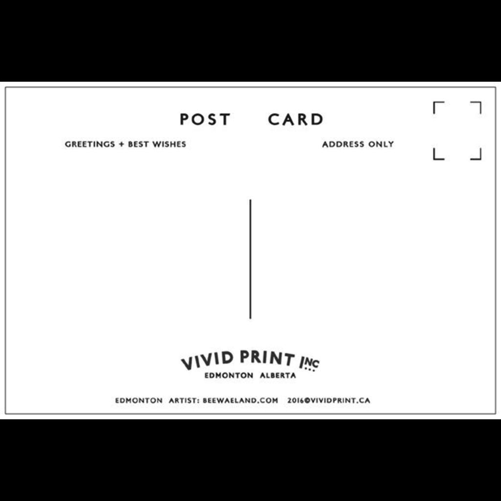 Vivid Print Edmonton Postcard
