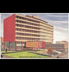 Vivid Print City Hall Postcard