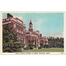 Vivid Print Medical School Postcard