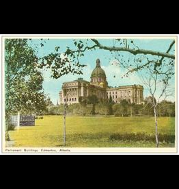 Vivid Print Parliament Buildings Postcard
