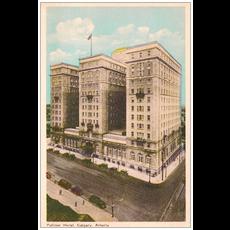 Vivid Print Palliser Hotel Postcard