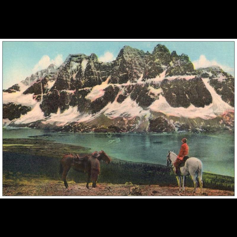 Vivid Print Ramparts Postcard