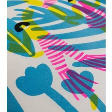 Vivid Print Mariah Barnaby-Norris | Neon Dancy