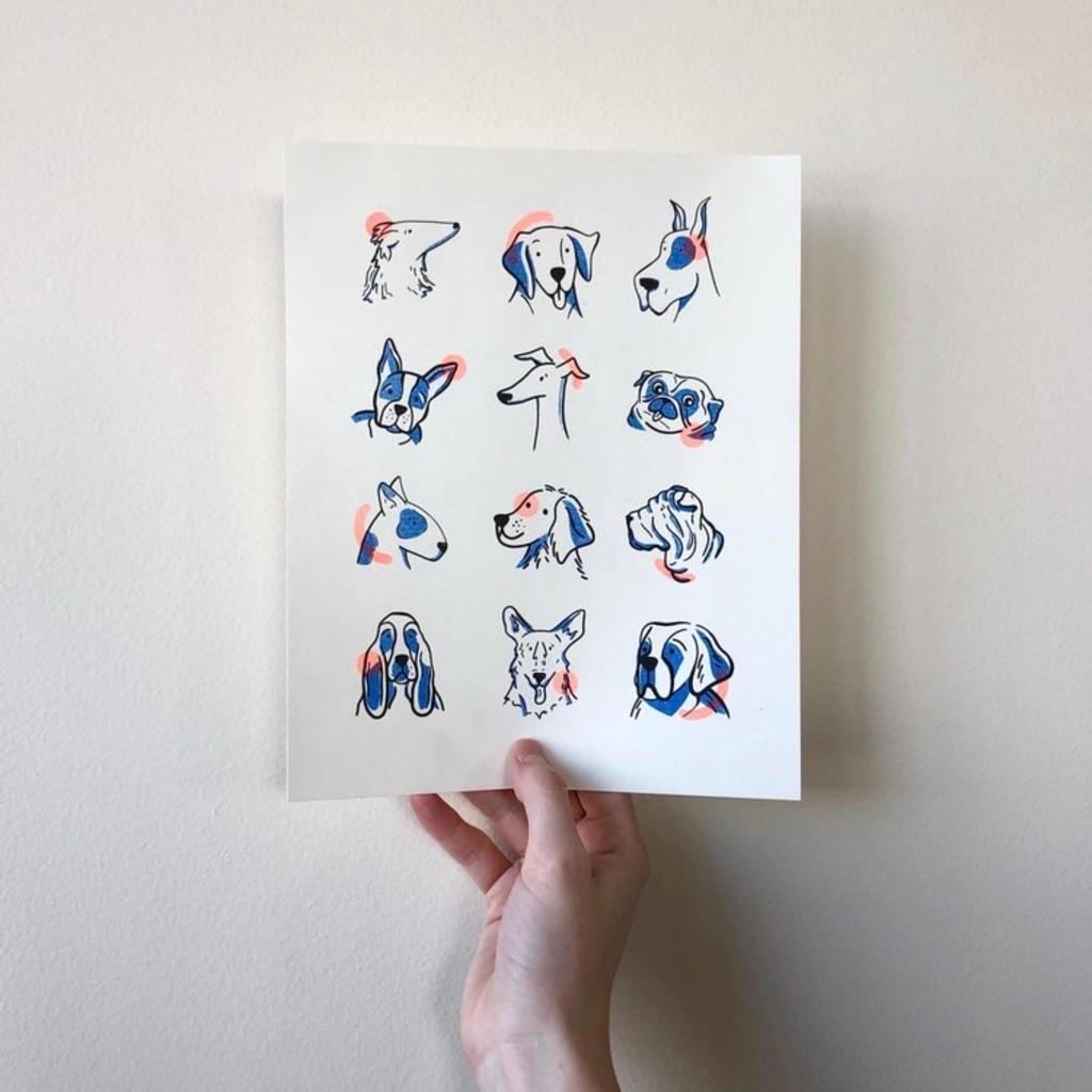Vivid Print This Might Work | Dog