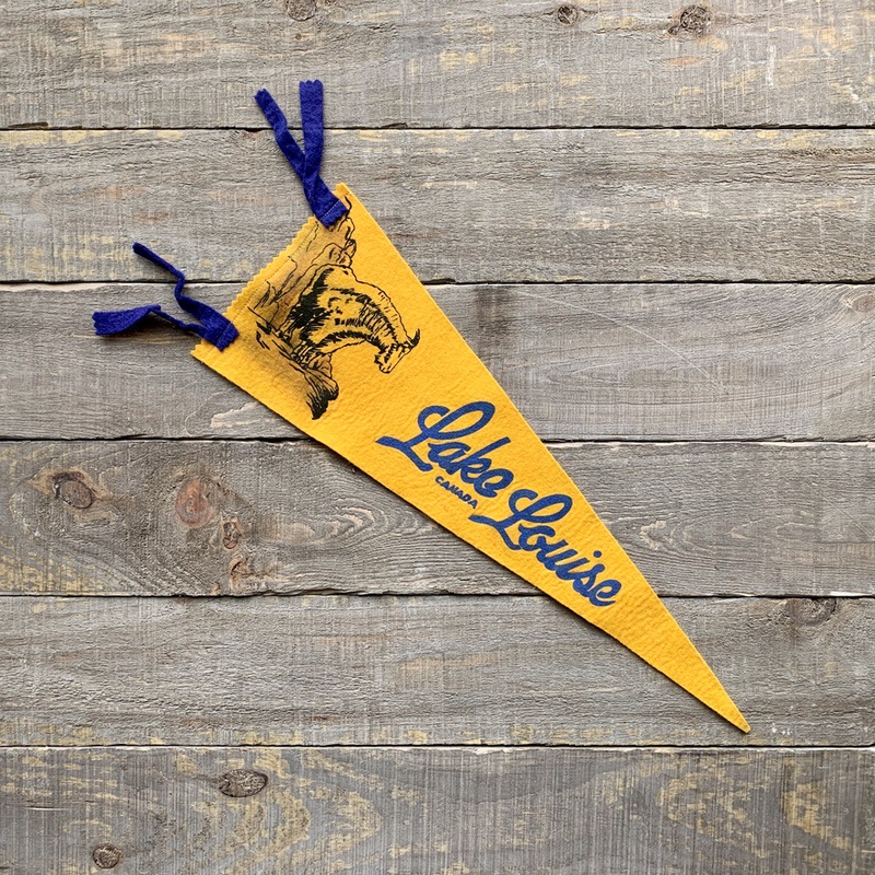 Vivid Vintage Vintage Lake Louise Pennant Yellow