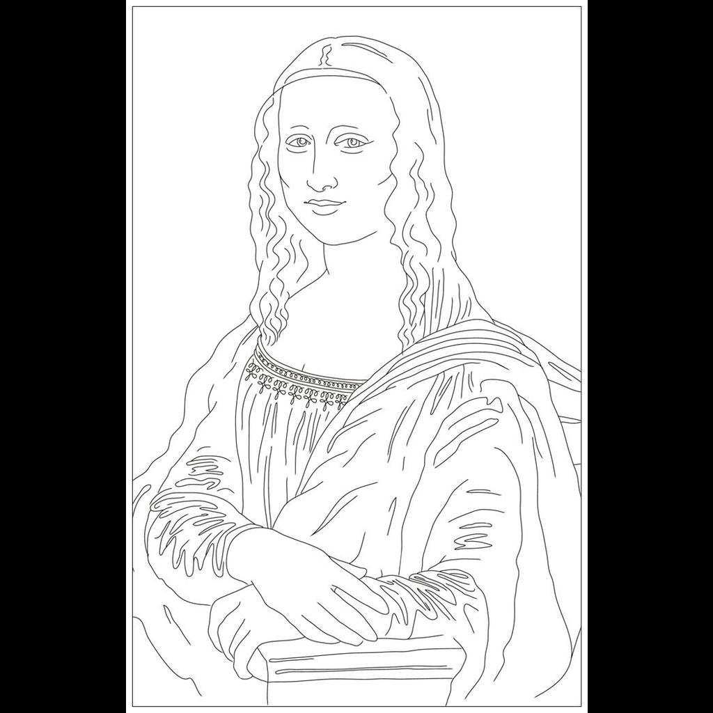Vivid Print Mona