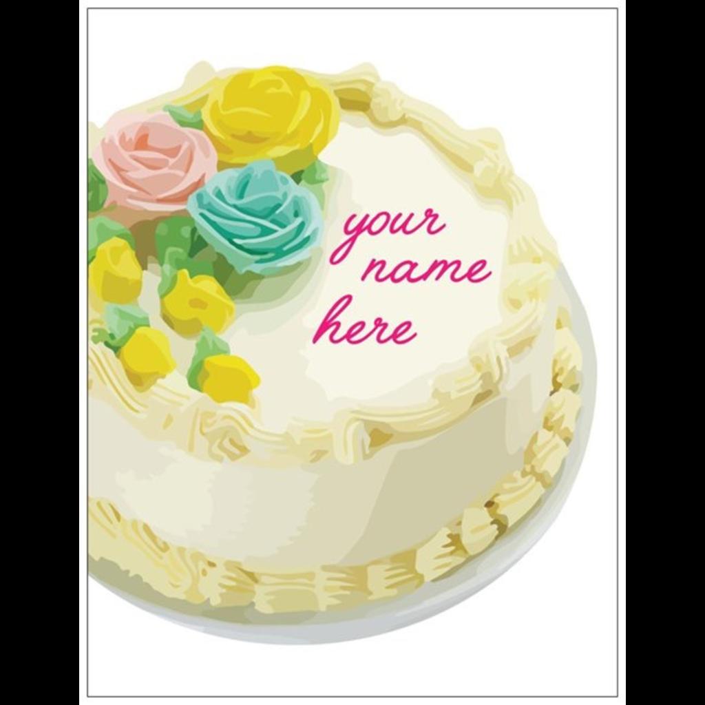 Vivid Print Your Name Here