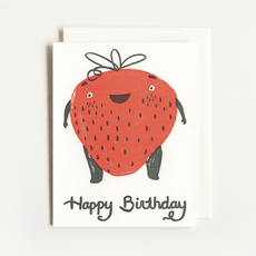 Homework Press Strawberry Birthday