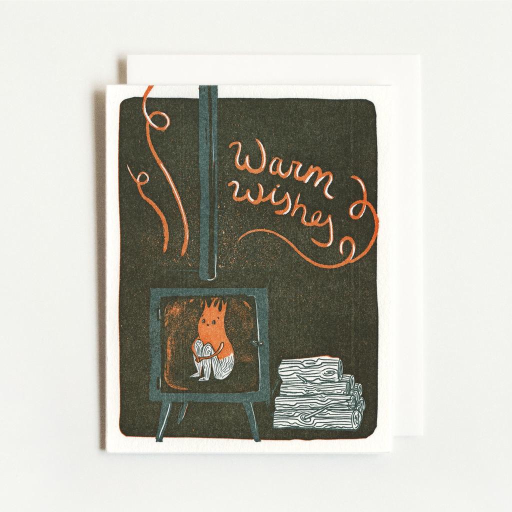 Homework Press Fireplace Wishes