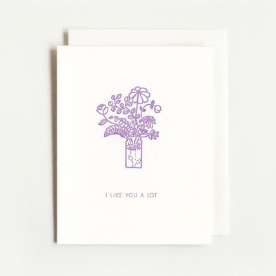 Homework Press I Like You A Lot Bouquet