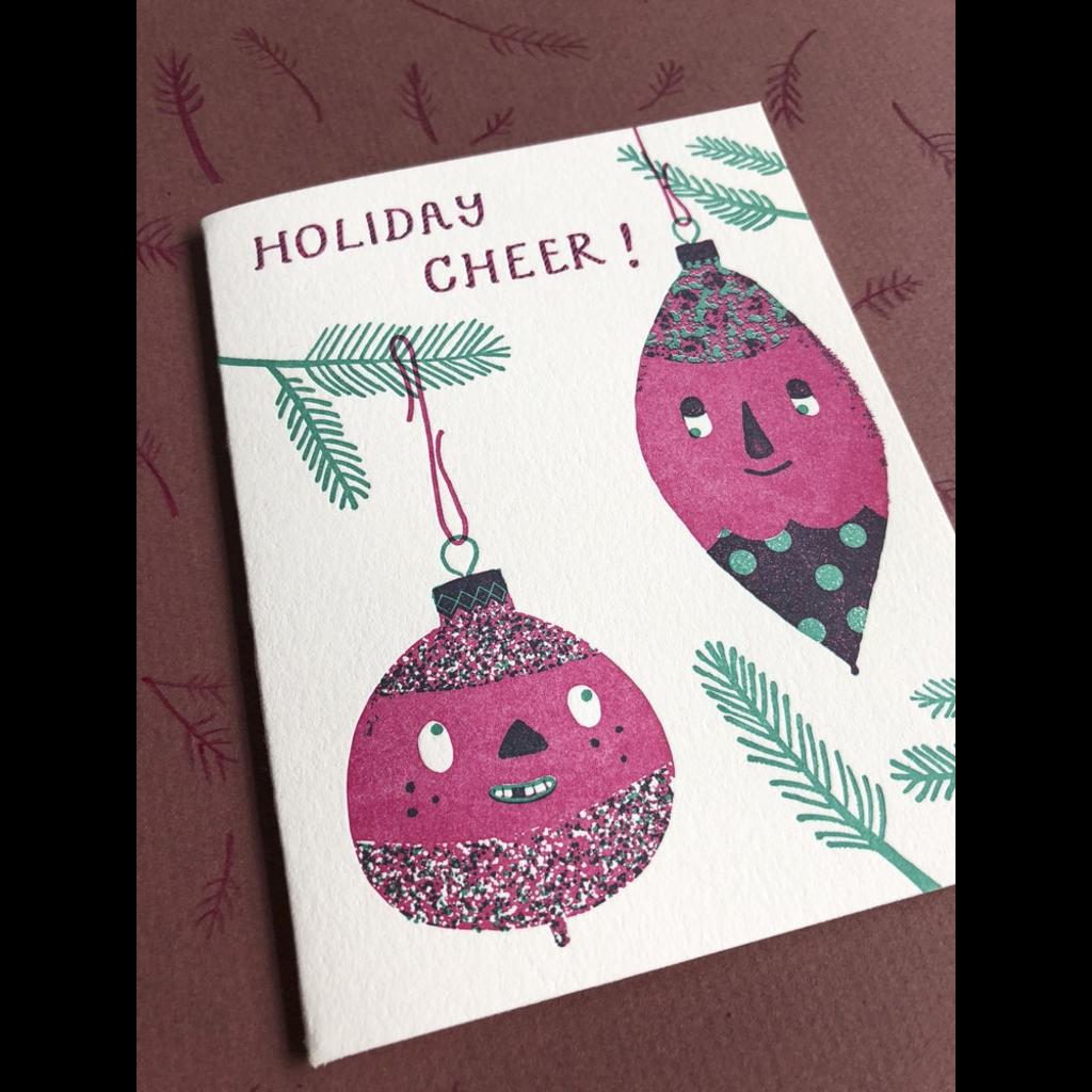 Homework Press Ornaments Cheer