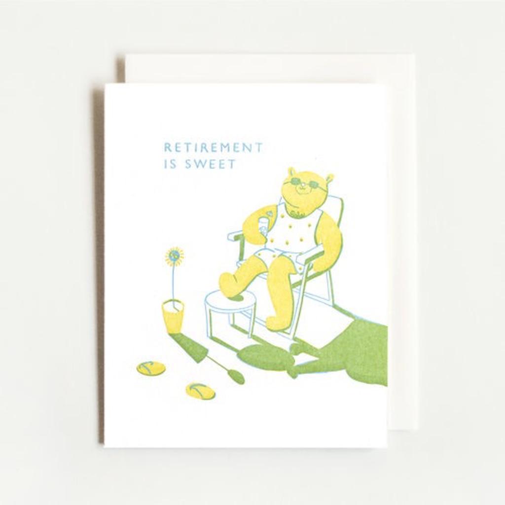 Homework Press Retirement Bear