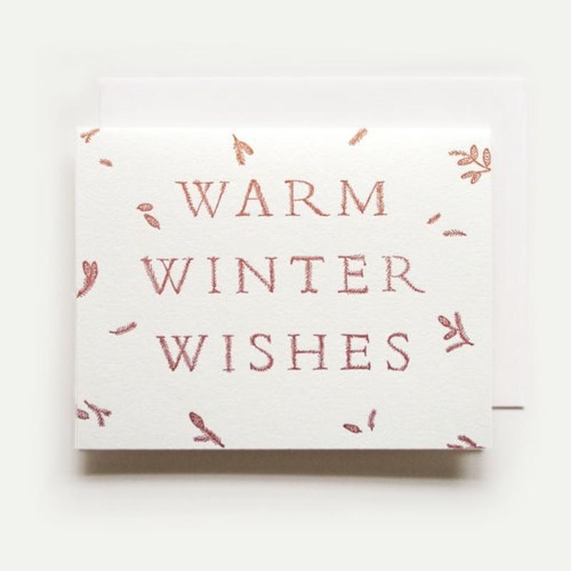 Homework Press Warm Winter Wishes