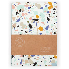 The School of Life Now House by Jonathan Adler Terrazzo A6 Notebook