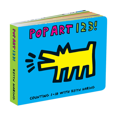 Galison Mudpuppy Keith Haring Pop Art 123!