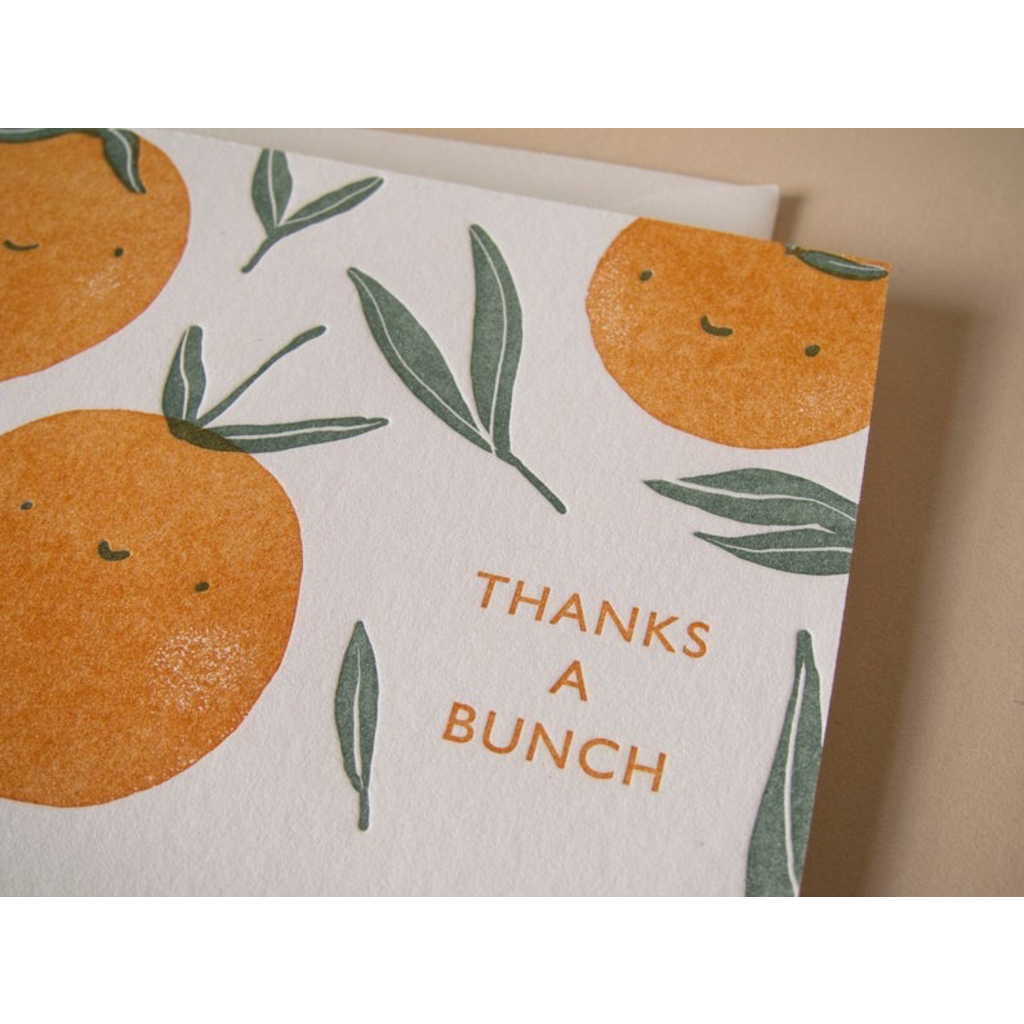 Homework Press Thank You Oranges