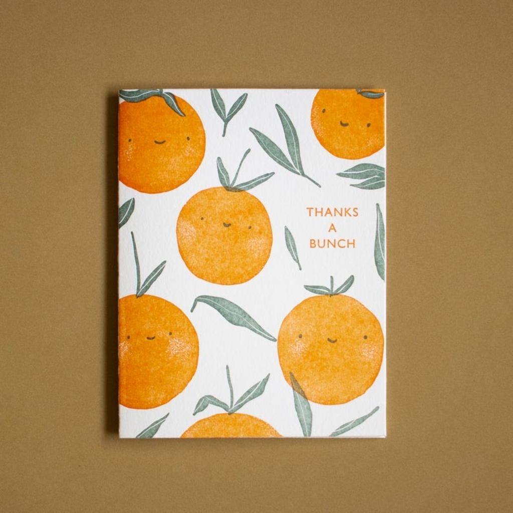 Homework Press Thank You Oranges